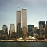 Manhattan Skyline With World Trade Centre