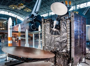 The SiriusXM Satellite at The Smithsonian National Air and Space Museum