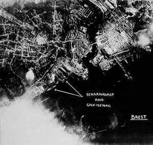 Scharnhorst and Gneisenau at Brest